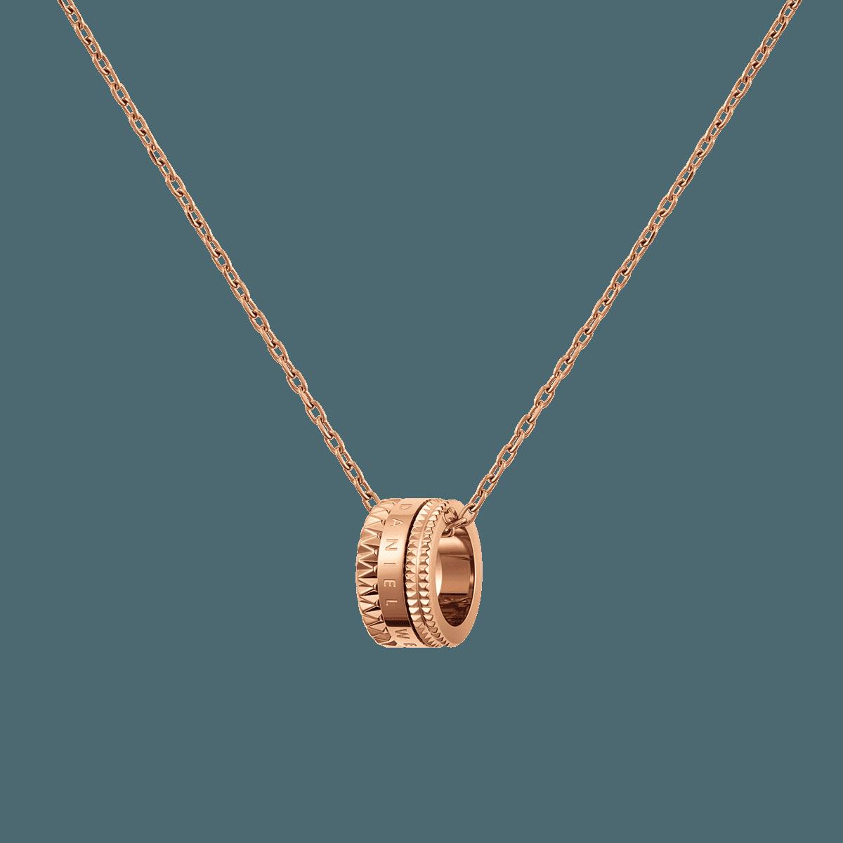 Elevation Necklace Rose Gold