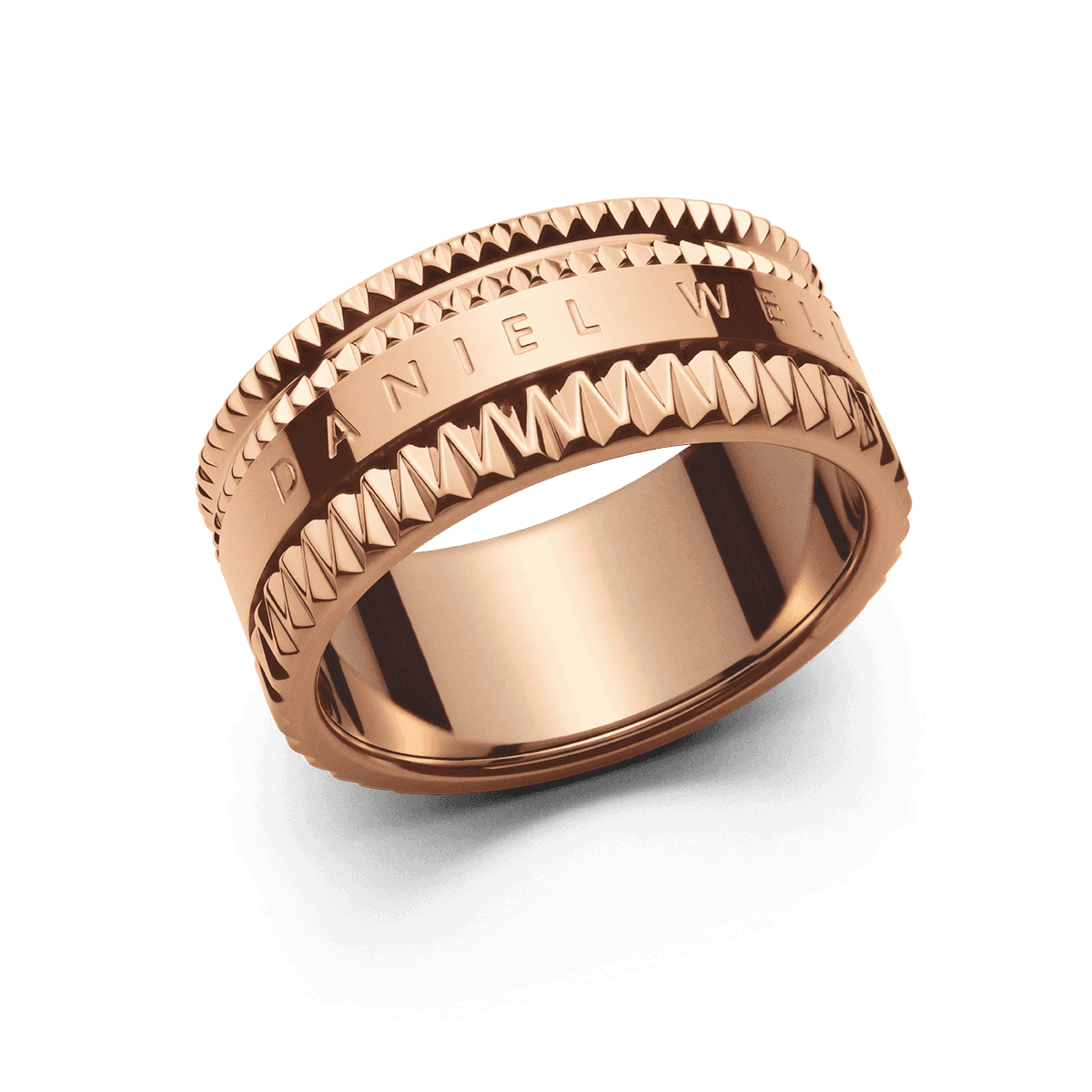 Elevation Ring Rose Gold 54