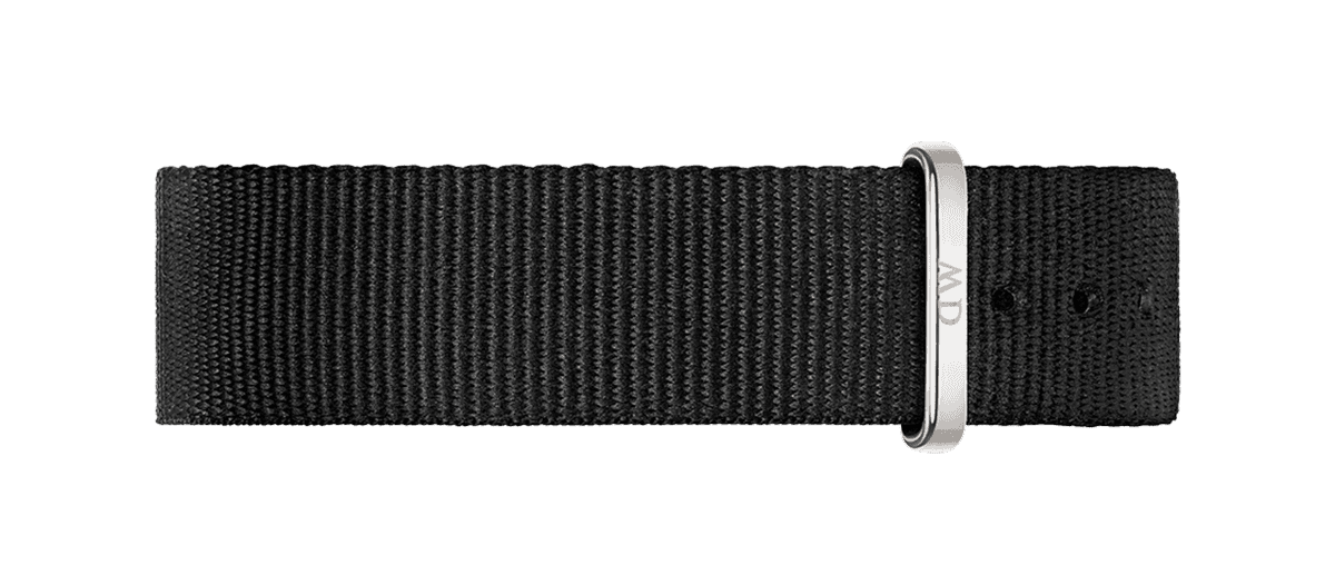 Watch band Classic Cornwall 18 Silver