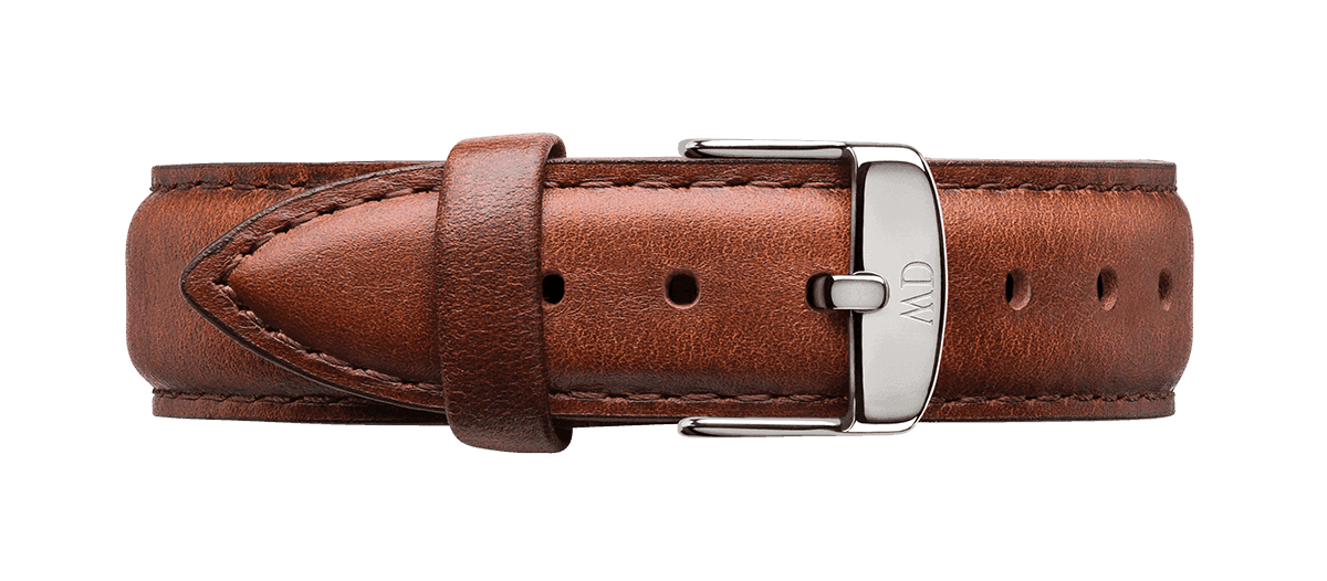 Watch band Classic St Mawes 18 Silver