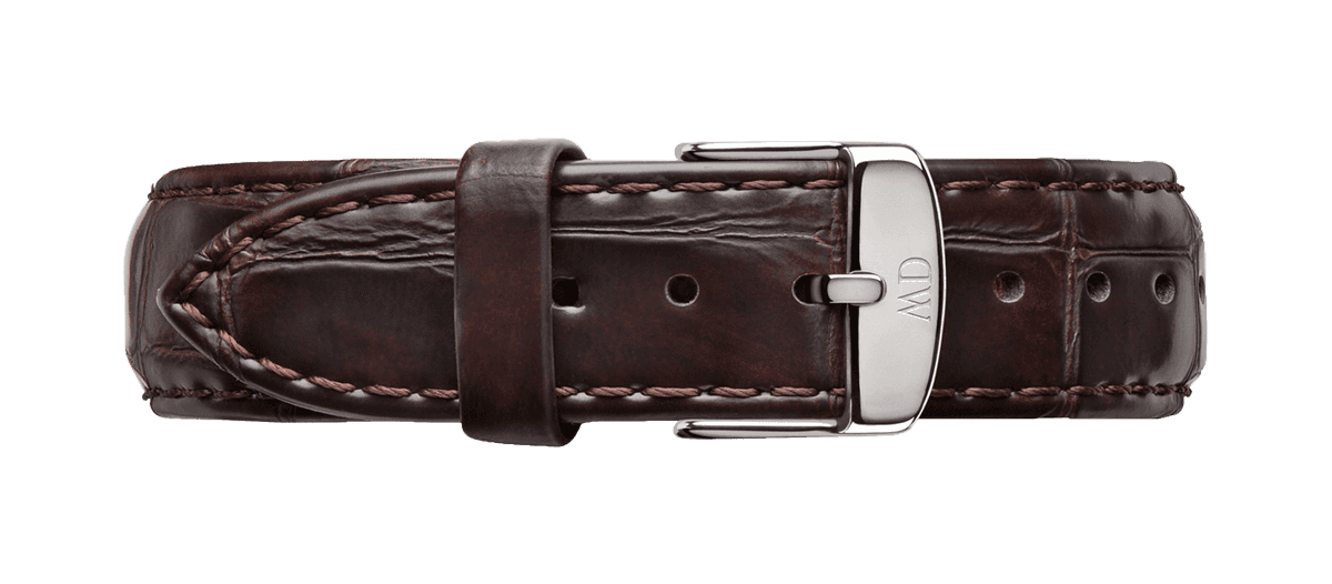 Watch band Classic York 18 Silver