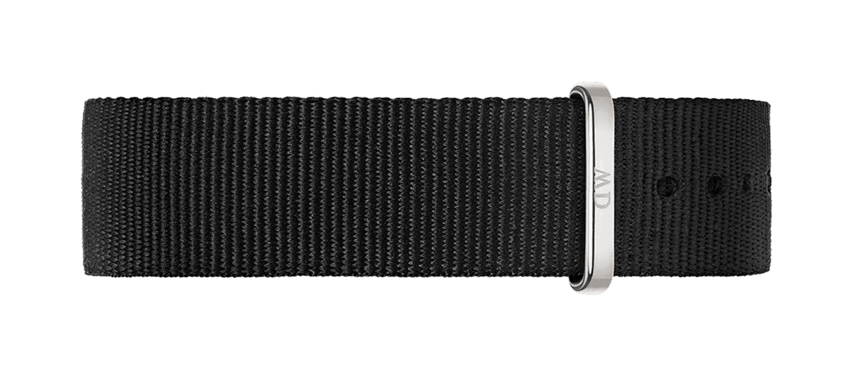 Watch band Classic Cornwall 20 Silver
