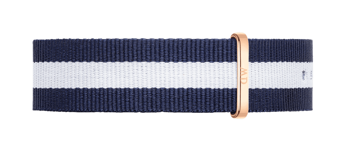 Watch band Classic Glasgow 20 Rose Gold