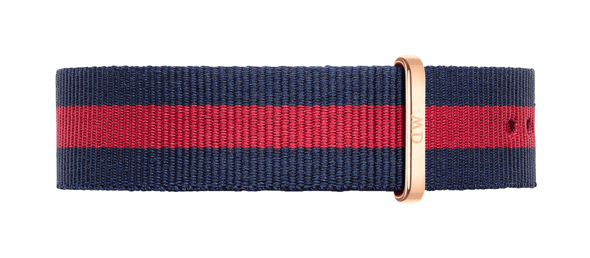 Watch band Classic Oxford 20 Rose Gold
