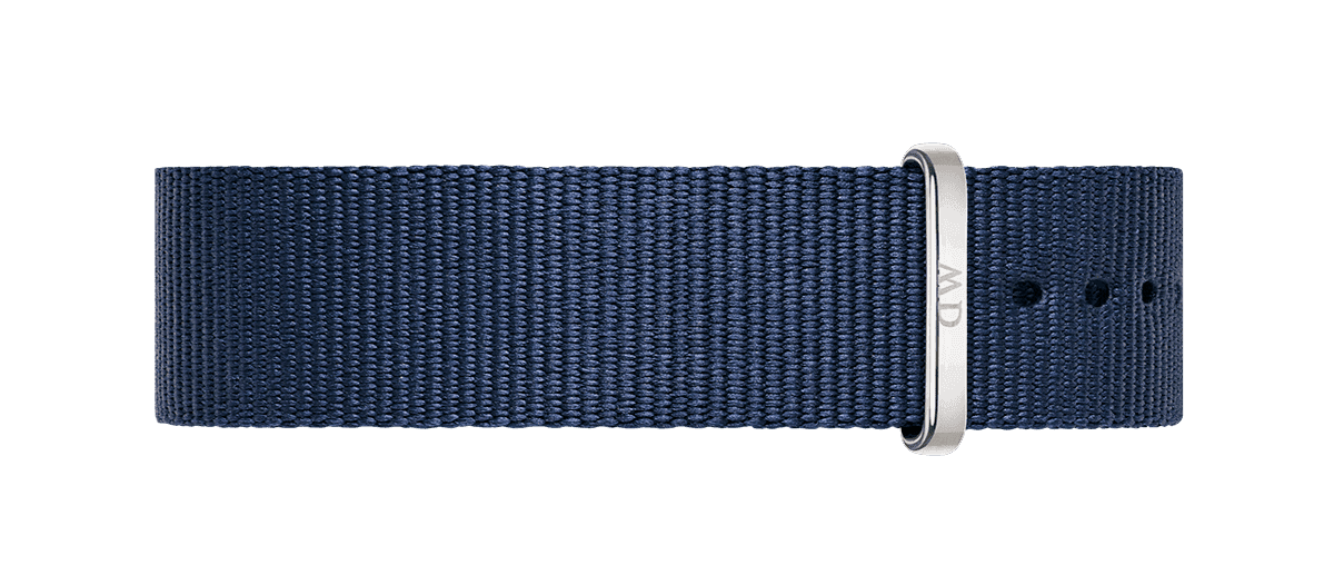 Watch band Classic Bayswater 18 Silver