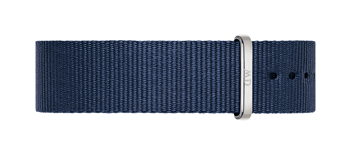 Watch band Classic Bayswater 20 Silver