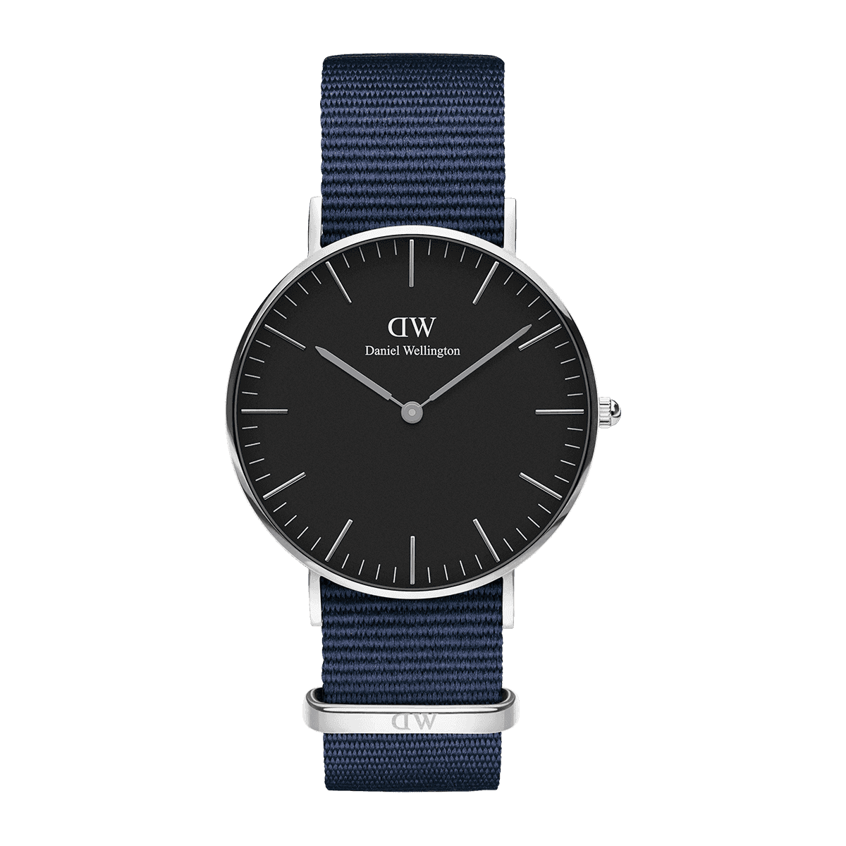 Classic Black Bayswater 36 Silver