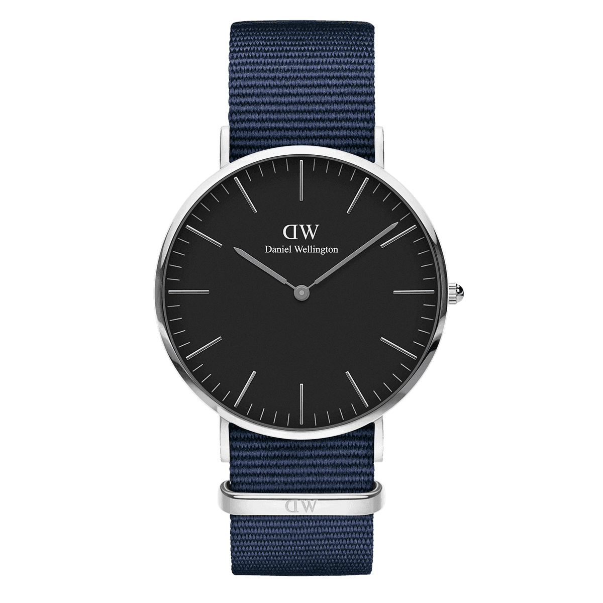 Classic Black Bayswater 40 Silver