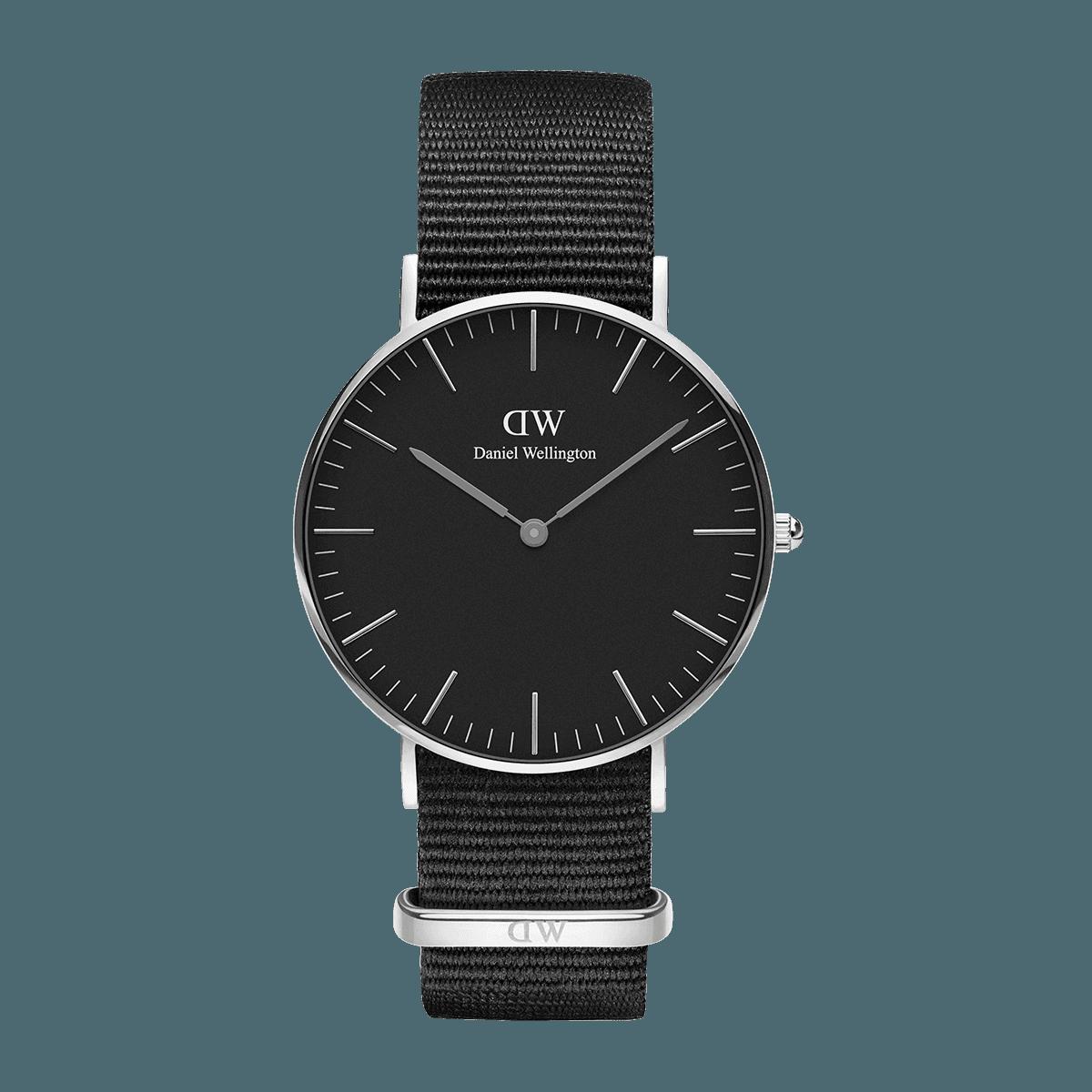 Classic Black Cornwall 36 Silver