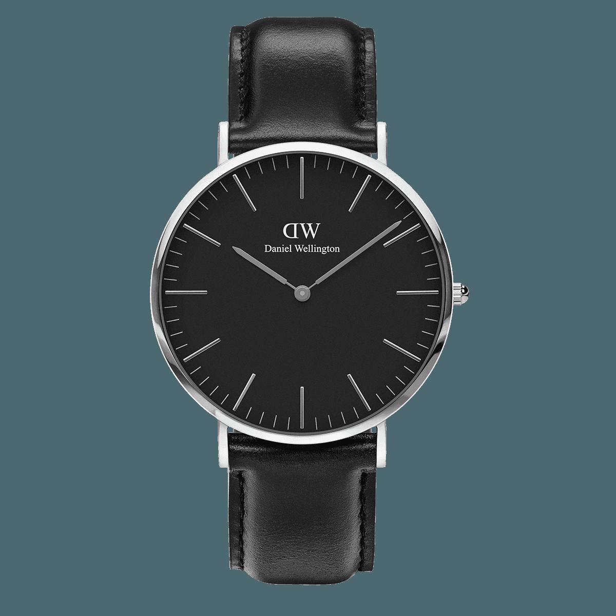 Classic Black Sheffield 40 Silver