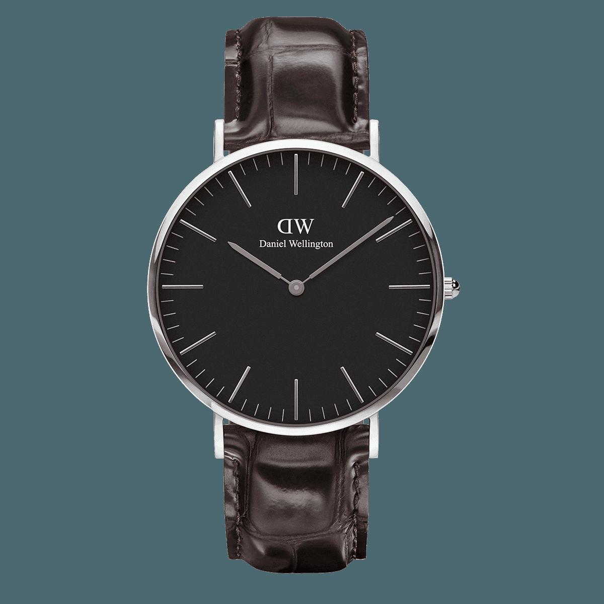 Classic Black York 40 Silver