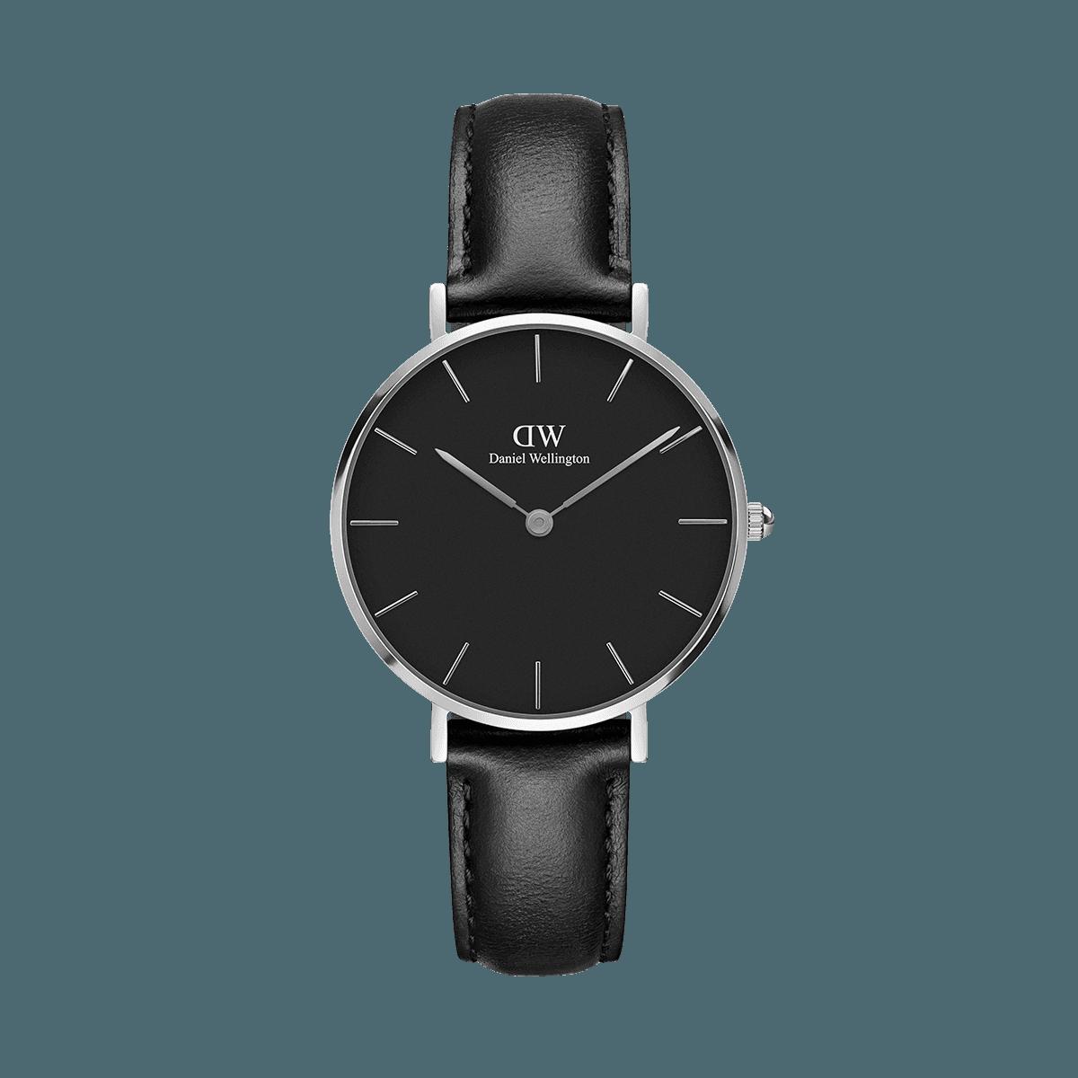Petite Sheffield Silver 32mm (black)