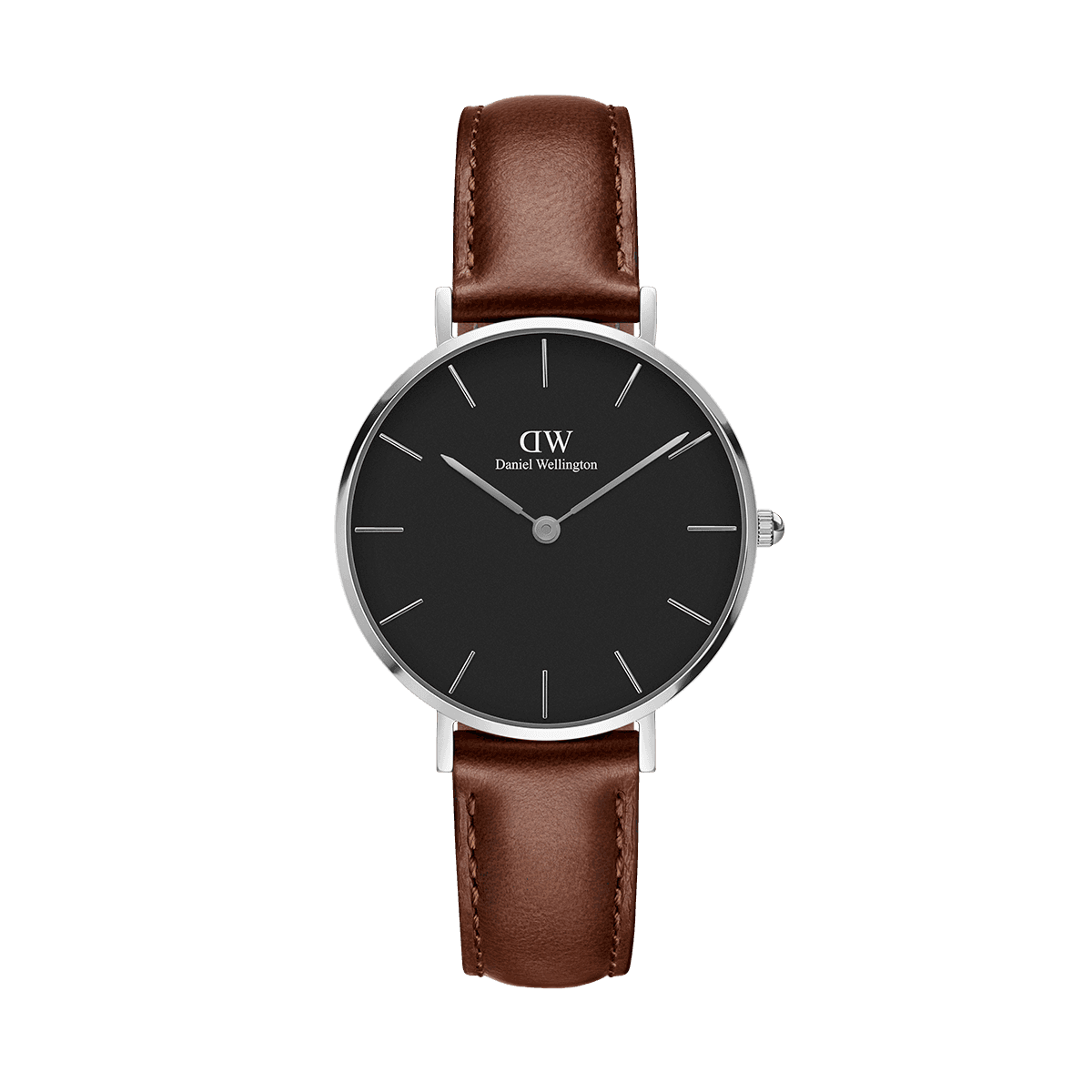 Petite St Mawes Silver 32mm (black)