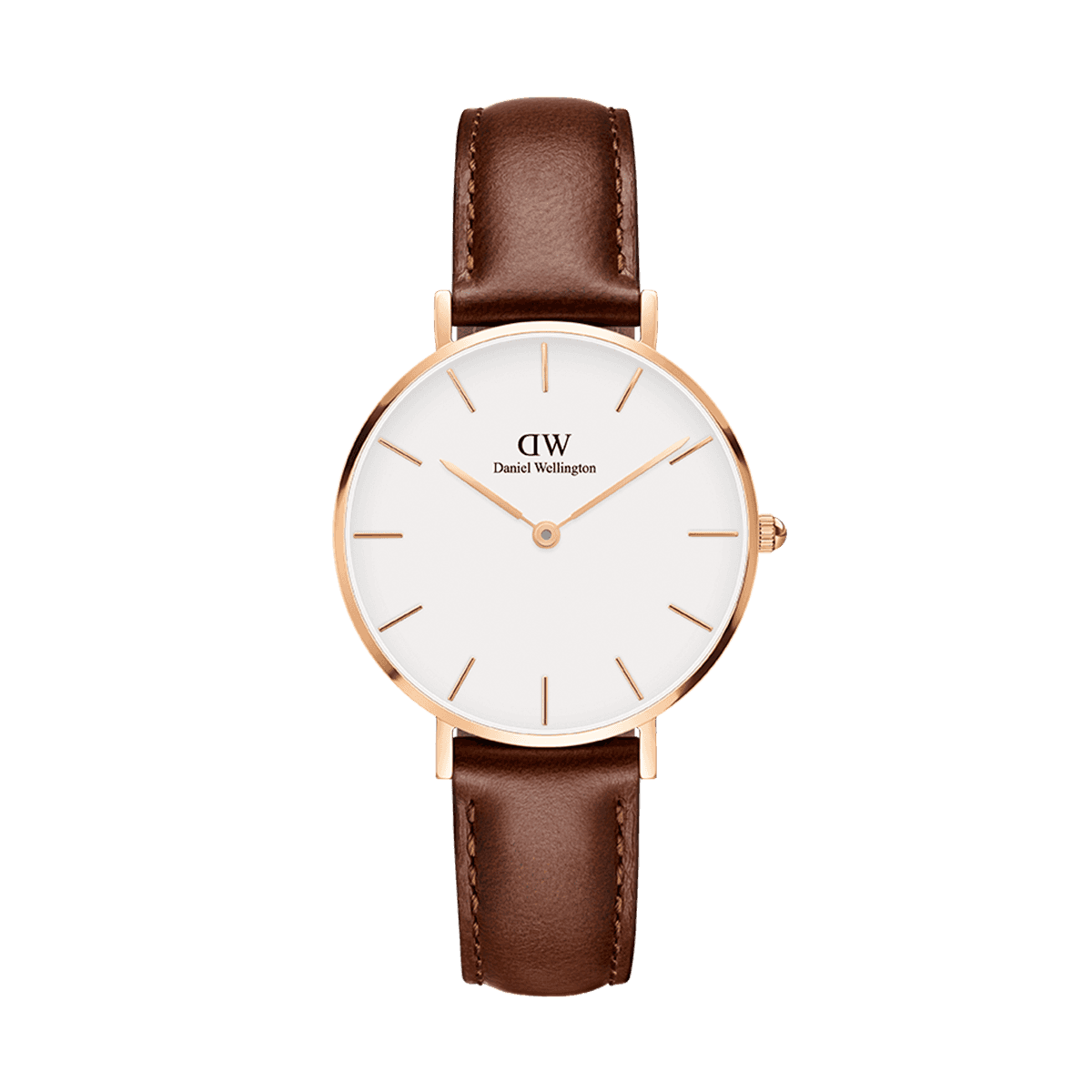 Petite St Mawes Rose Gold 32mm (white)