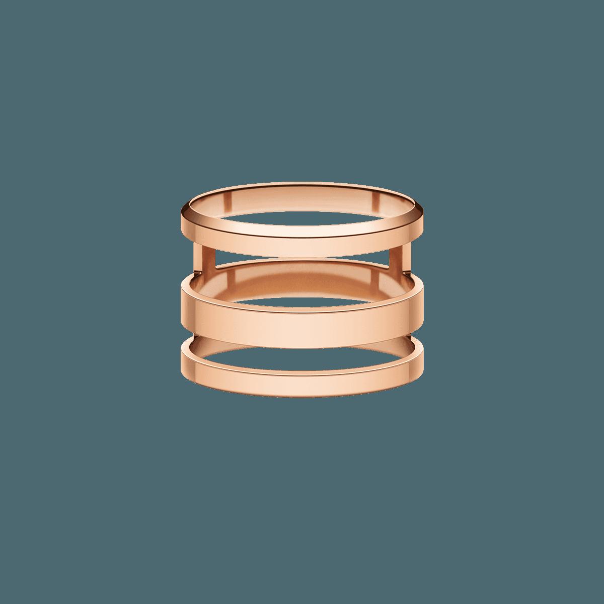 Elan Triad Ring Rose Gold 48