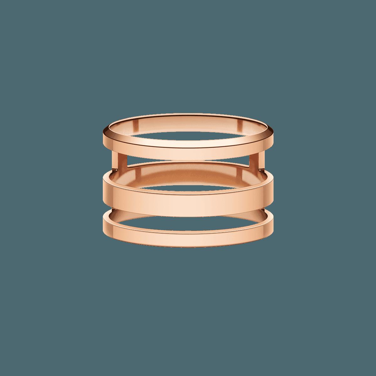 Elan Triad Ring Rose Gold 54