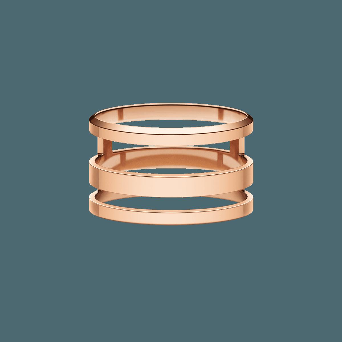 Elan Triad Ring Rose Gold 58