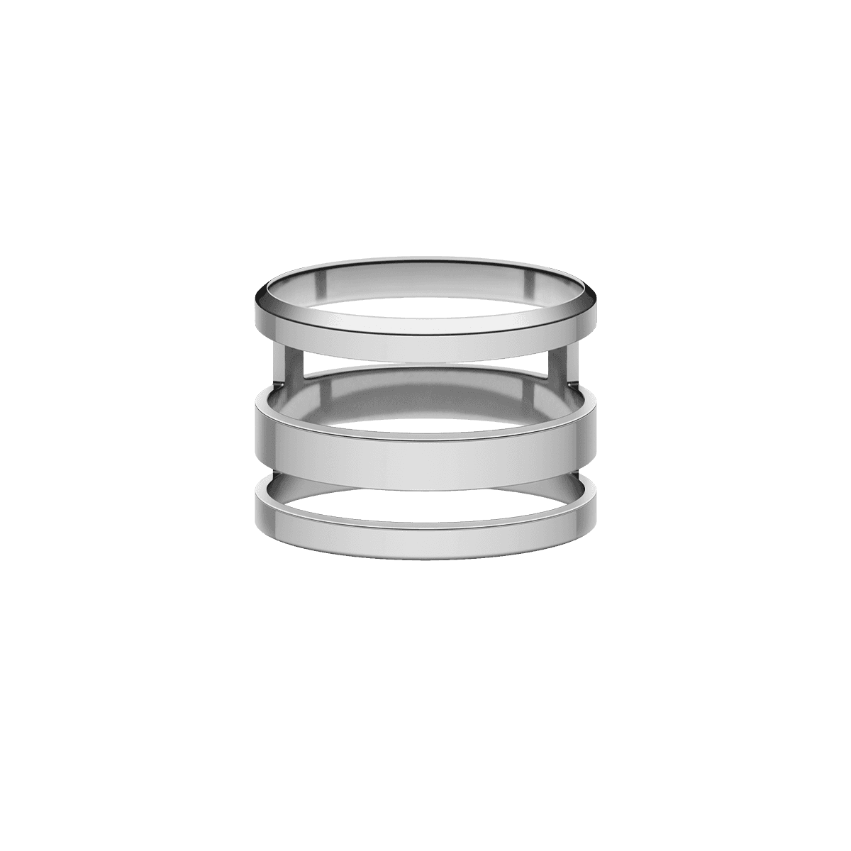 Elan Triad Ring Silver 48