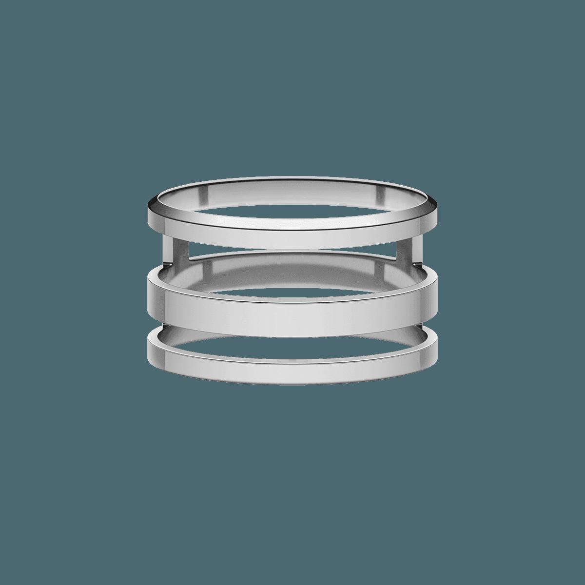 Elan Triad Ring Silver 60