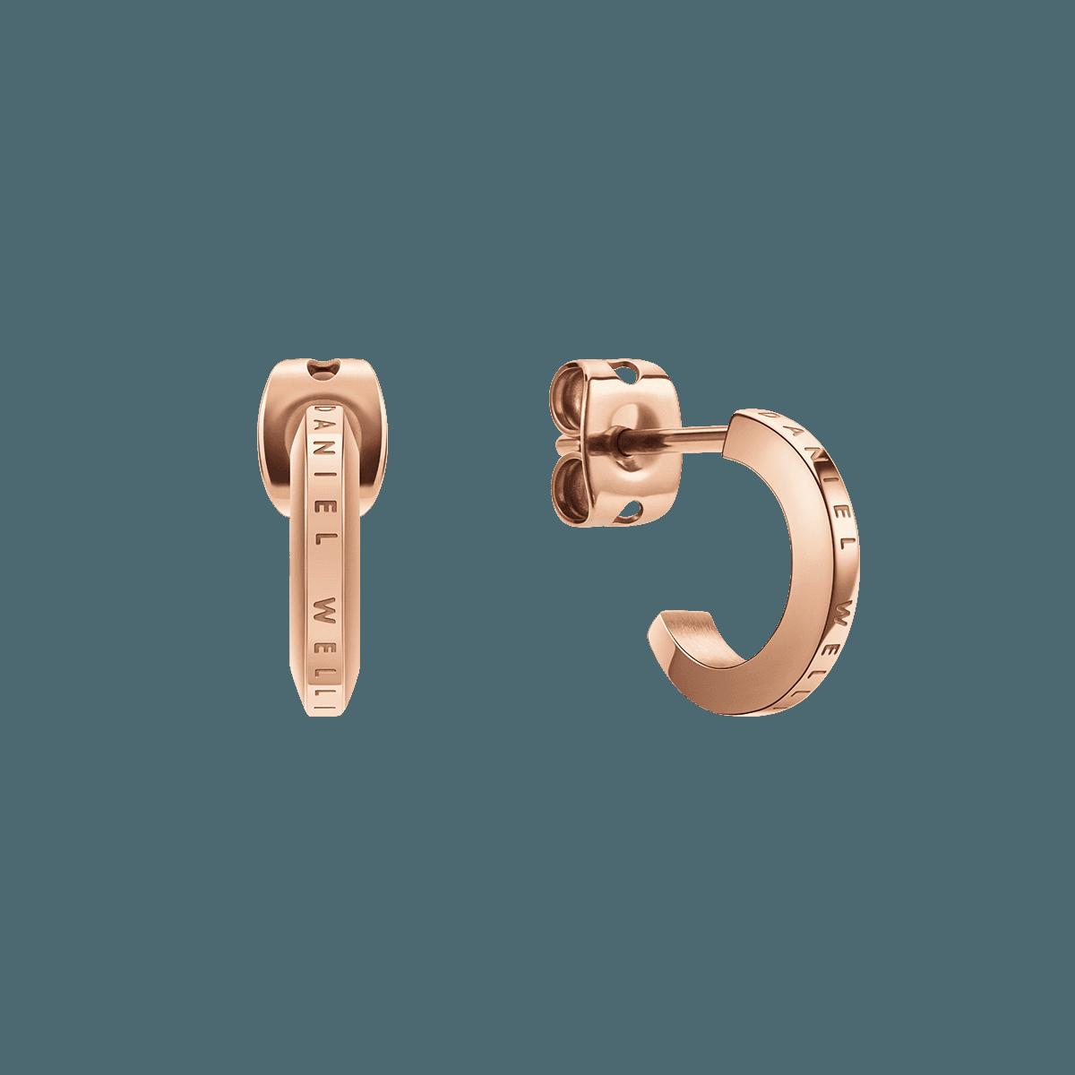 Elan Earrings Rose Gold One Size