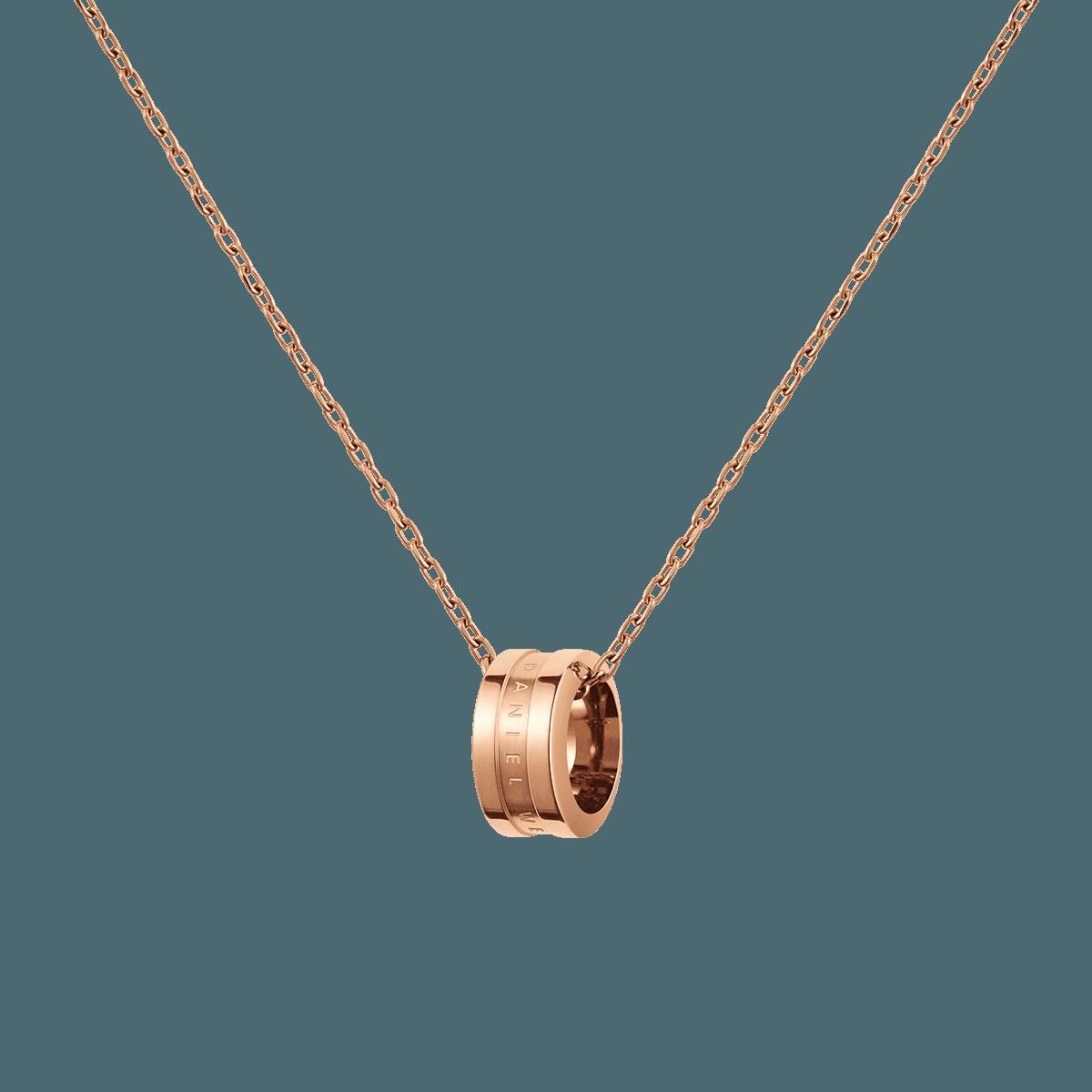Elan Necklace Rose Gold One Size