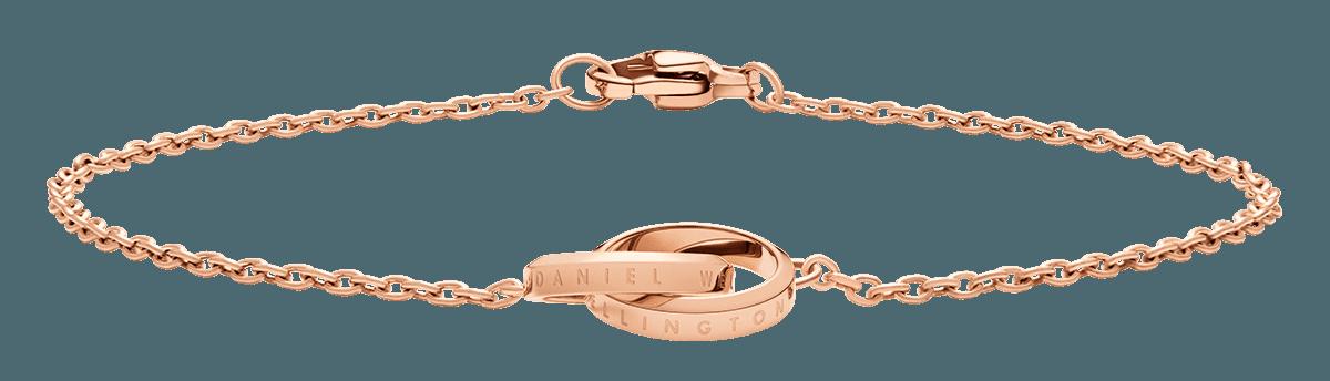 Elan Unity Bracelet Rose Gold 185mm