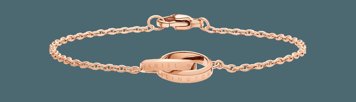 Elan Unity Bracelet Rose Gold 155mm