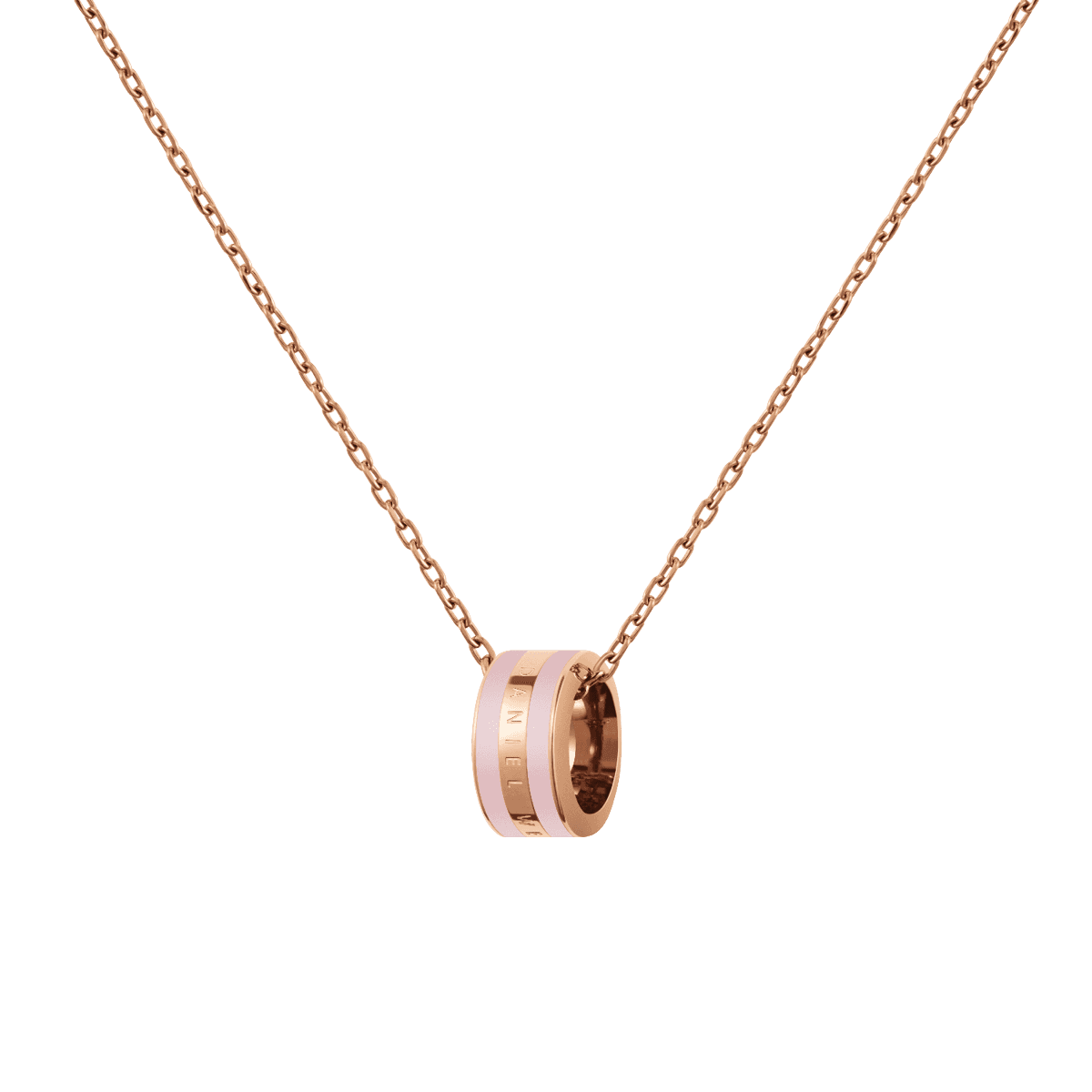 Emalie Necklace Rose Gold Cherry Blossom One Size